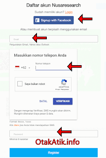 form pendaftaran nusaresearch