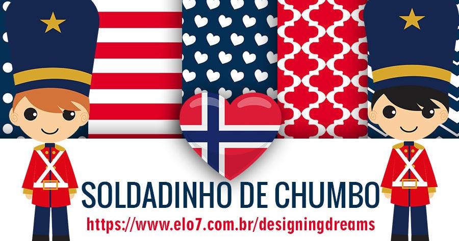 Kit Digital Soldadinho De Chumbo Cantinho Do Blog