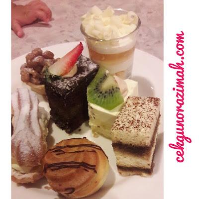 aneka manisan, hotel armada pj, pelbagai kek, buffet ramadhan
