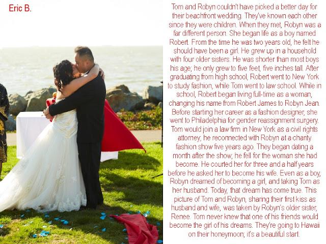 Eric s transgender captions dream wedding