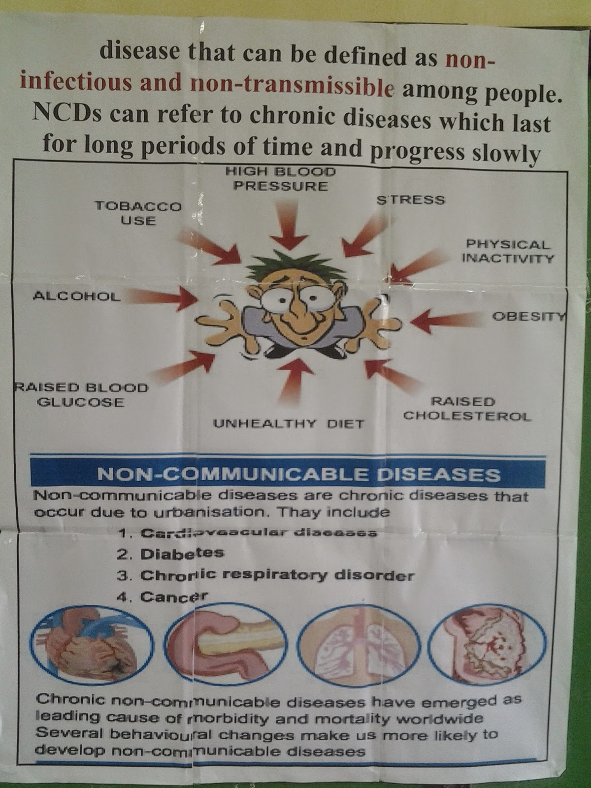 Grade 7 Health Non Communicable Diseases Overview