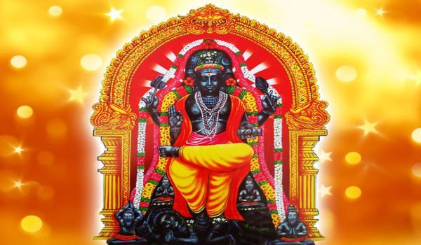 குரு பெயர்ச்சிக்கு இயற்கை பட்டு மஞ்சள் மந்திர வஸ்திரம்
