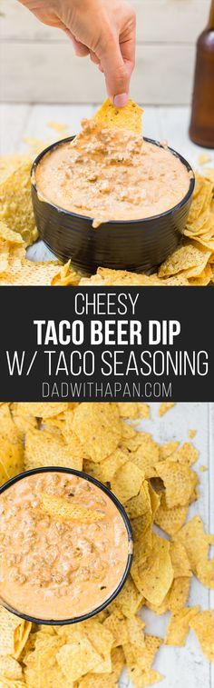 Cheesy Taco Beer Dip with Taco Seasoning From Scratch