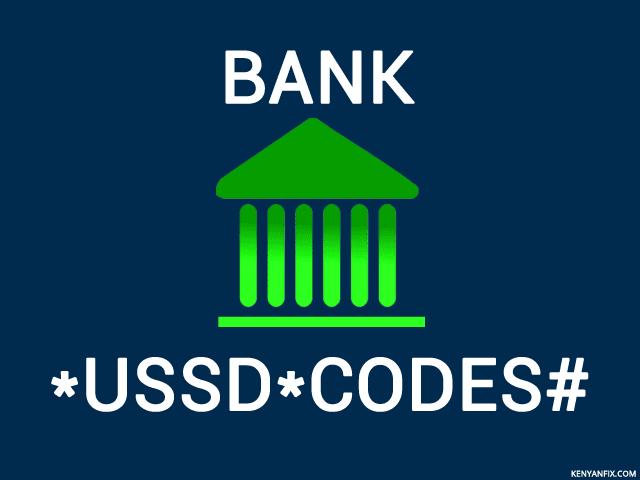 Mobile Banking USSD Codes for Kenyan Banks - Kenyan Fix