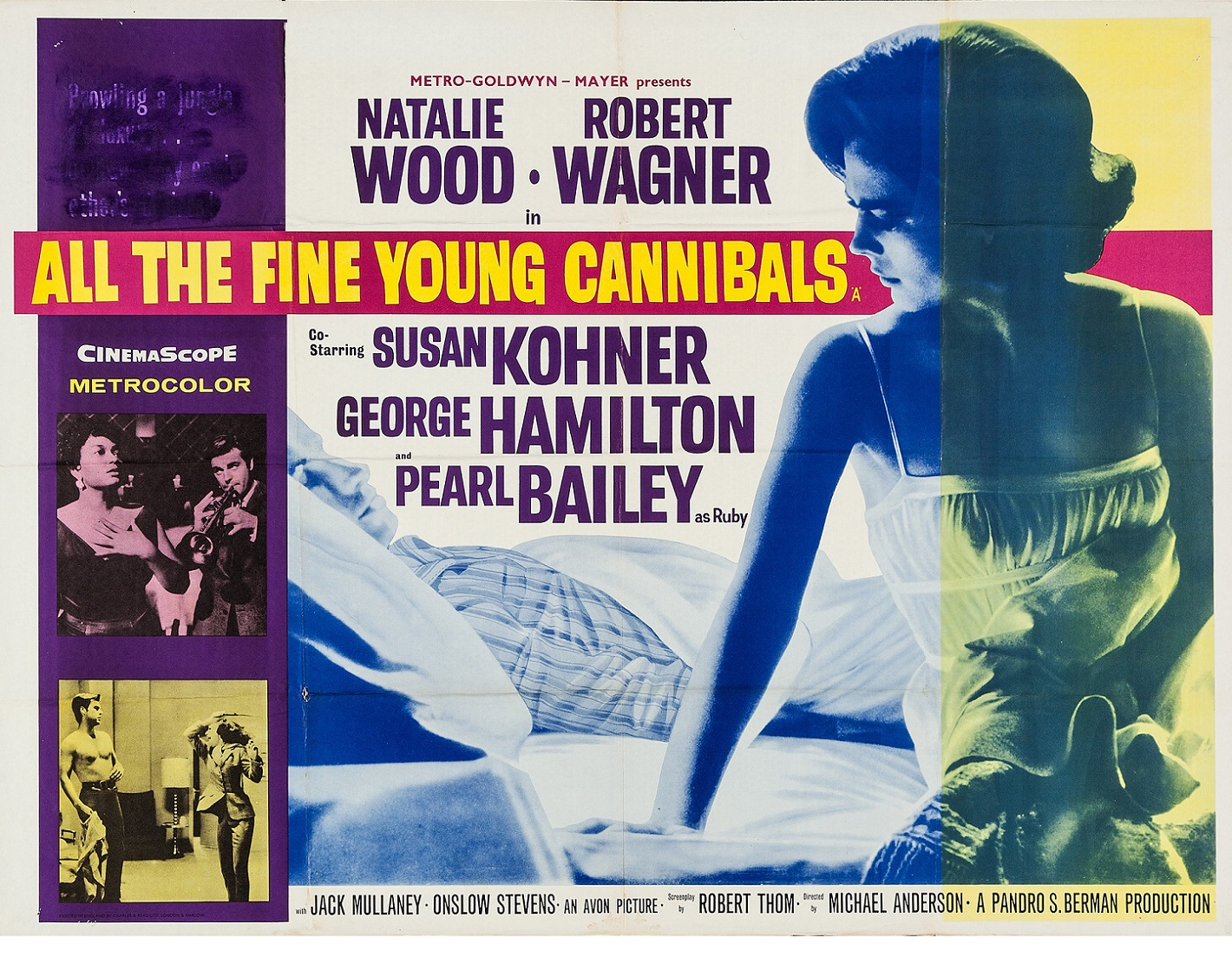 ALL THE FINE YOUNG CANNIBALS (1960) WEB SITE