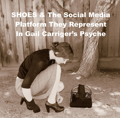 My Shoes & The Social Media Platforms They Represent In My Psyche