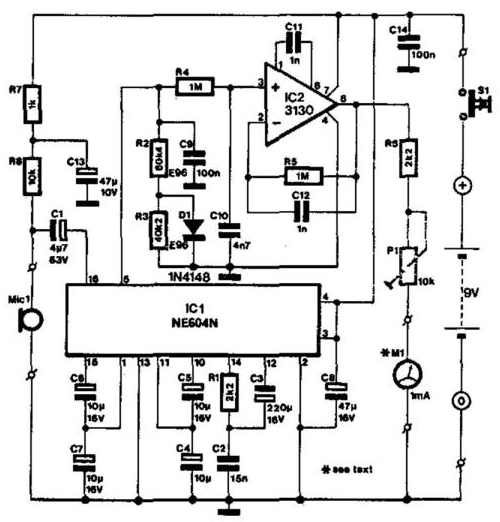 level monitor circuit diagram nonstop electronic circuits