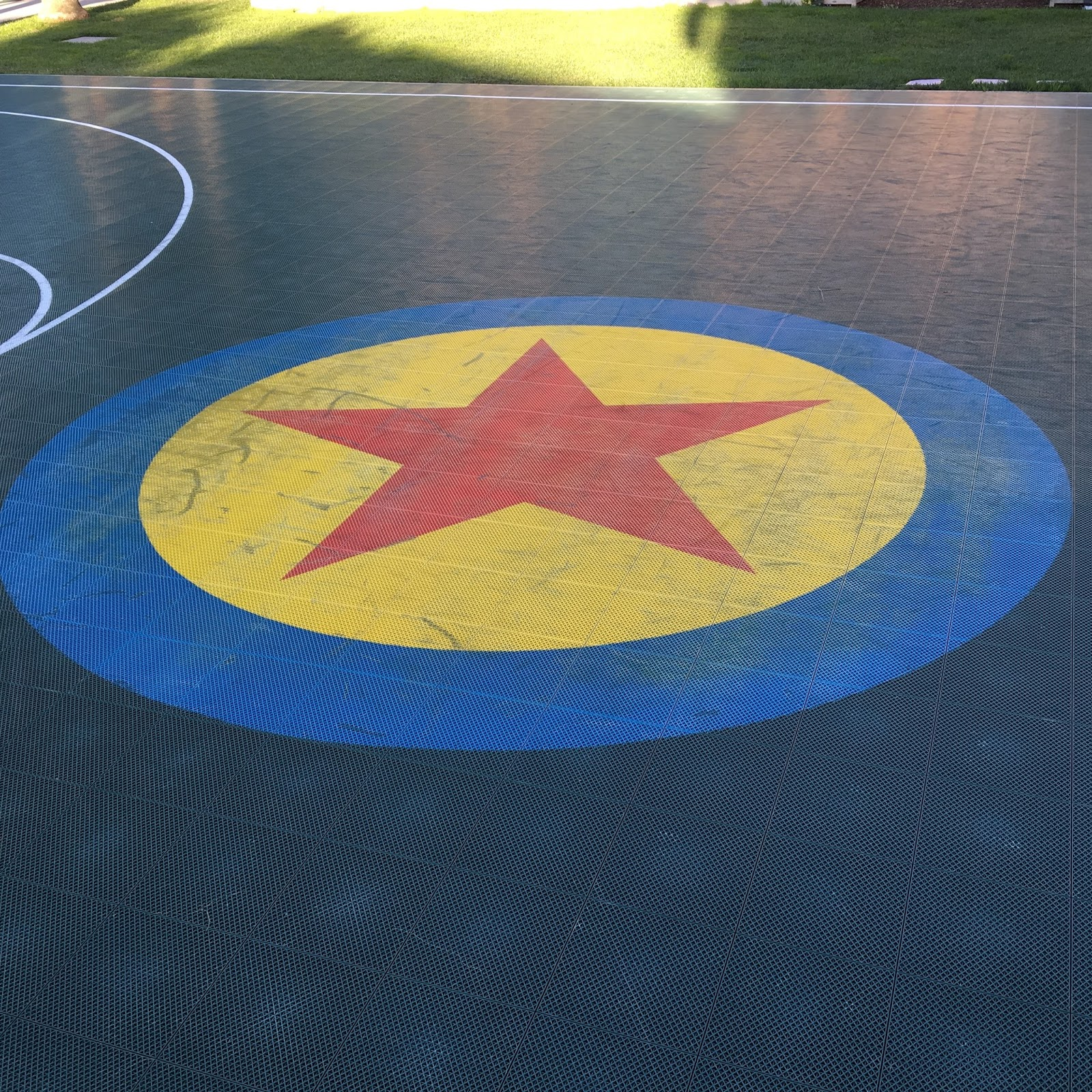 pixar studios basketball court