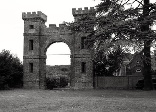 Figure 3. The 'Folly Arch' at Gobions Photo: Tom Williamson, August 2011