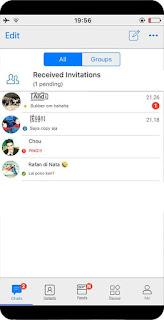 BBM Mod Style IOS Apk v3.3.5.49 Terbaru Full