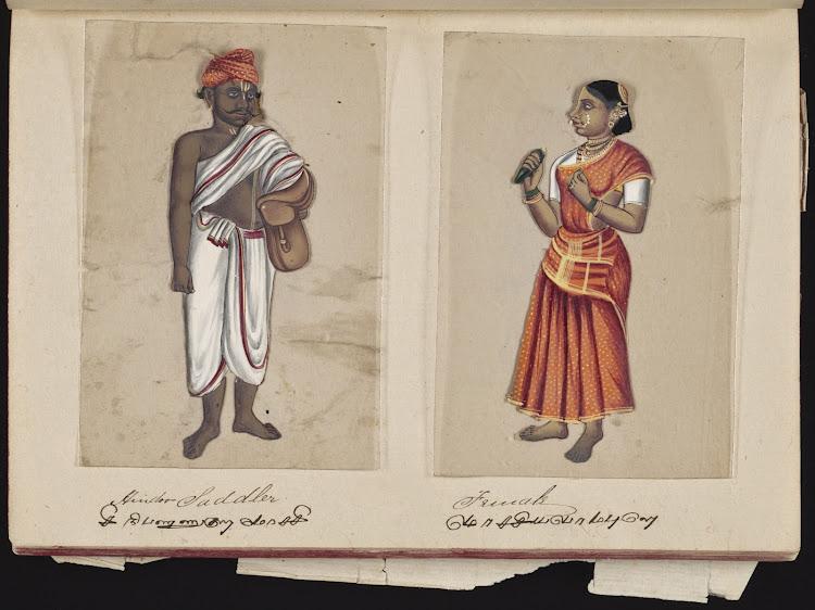 Hindoo Saddler and Female