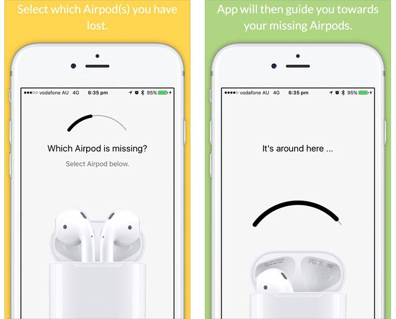 airpods finder app