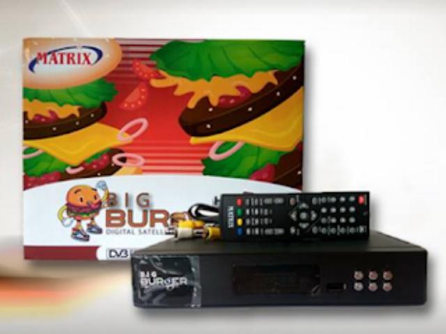 Sfesifikasi dan Harga Receiver Matrix Big Burger New