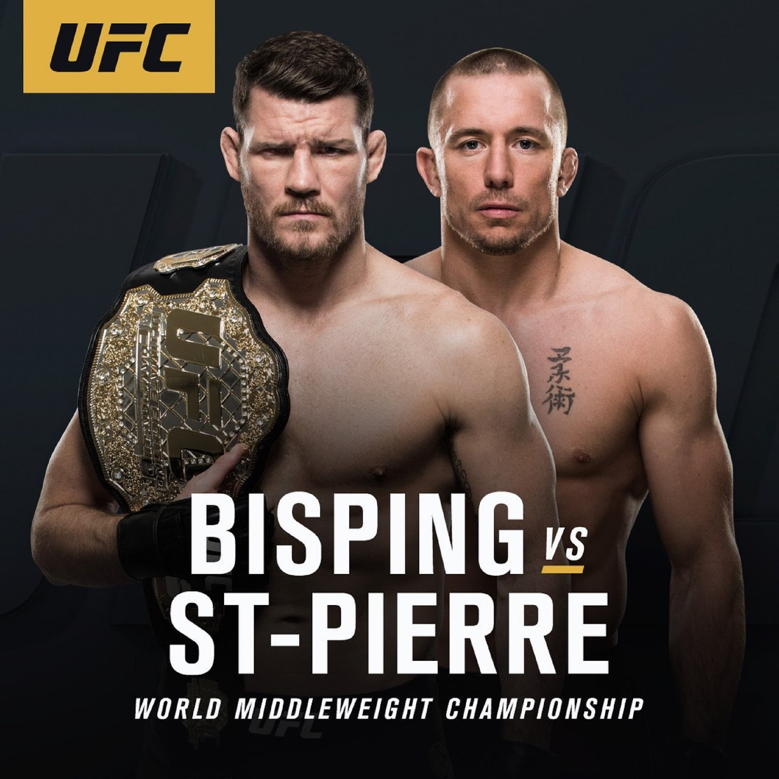 MICHAEL BISPING VS. GEORGES ST PIERRE 5
