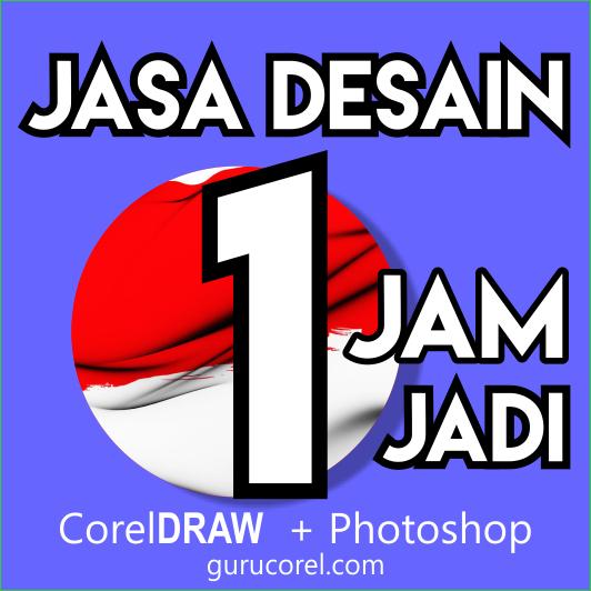 third image of Jasa Desain Grafis Online with Jasa Desain Grafis ONLINE CorelDRAW + Photoshop 1 Jam Jadi ...