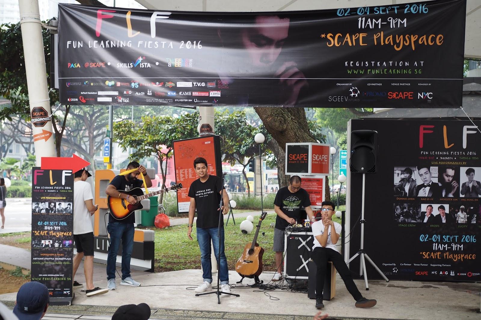 September 2016 - Fun Learning Fiesta (FLF) @ SCAPE