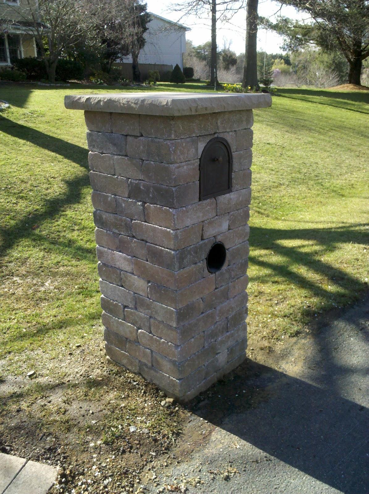 Life Time Pavers Paver Stone Mailboxes