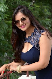 Actress Ashwini Pictures in Short Dress at Vinodam 100 Percent Press Meet  0009.JPG