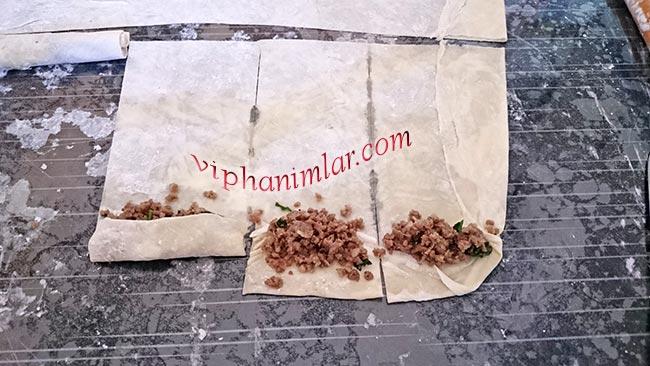 Kıymalı açma sigara böreği - www.viphanimlar.com