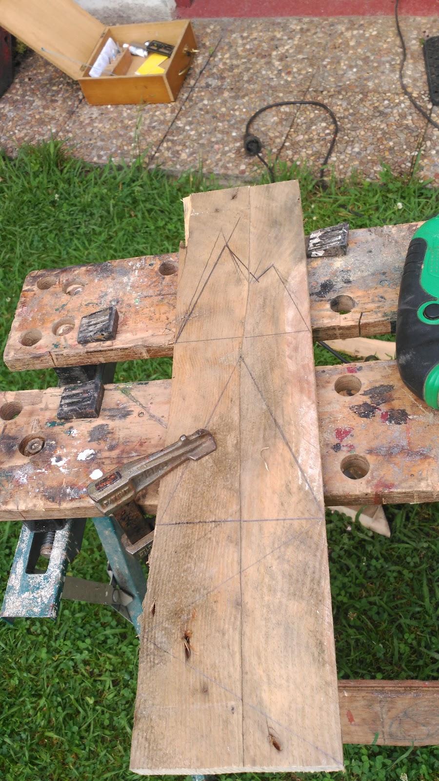 Las cosas de bego c mo hacer colgadores de madera for Colgadores de madera