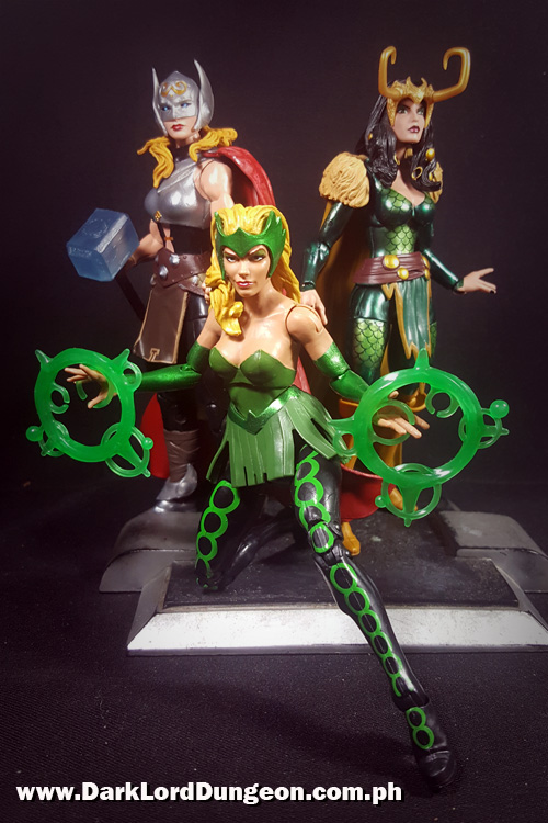 SDCC Exclusives Jane Foster Thor, Enchantress and Loki