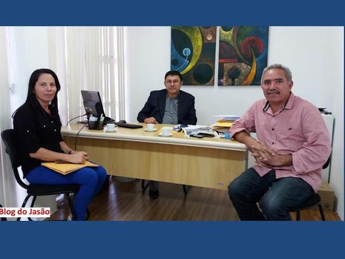 Vereadora Irani Antunes e o ex vereador Mestre Raimundo cumpre agenda política na capital do Estado.