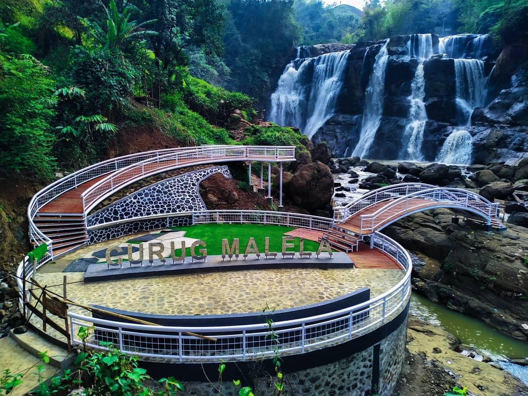 Air Terjun Terpopuler di Jawa Barat