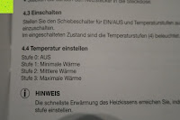 Bedienung: Beurer HK 44 Heizkissen (elektrische Wärme in Wärmflaschenform)