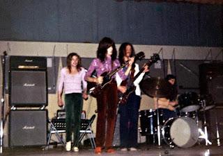 Joe, Mark, John & Tom, J-E High, 1970