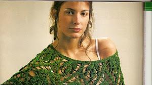 Capa para fiesta al crochet - explicación en Español