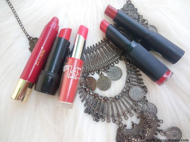 My 5 Favorite Red Lipstick Shades