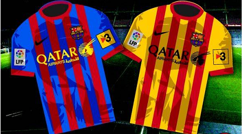 La nueva equipación del Barça 2013/2014 | El Gurú de la ...  La nueva equipa...