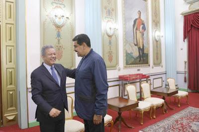 Nicolas Maduro sostuvo reunión con Leonel Fernández