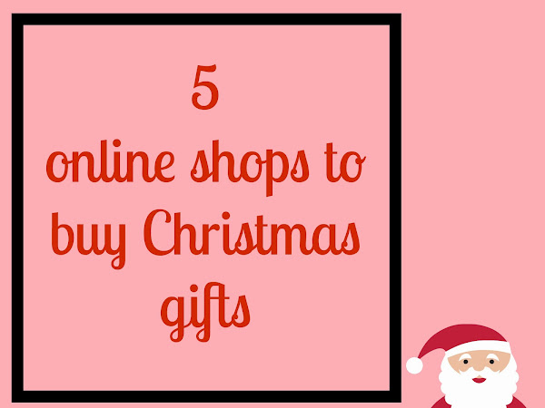 5 Online shops to buy your Christmas gifts this year