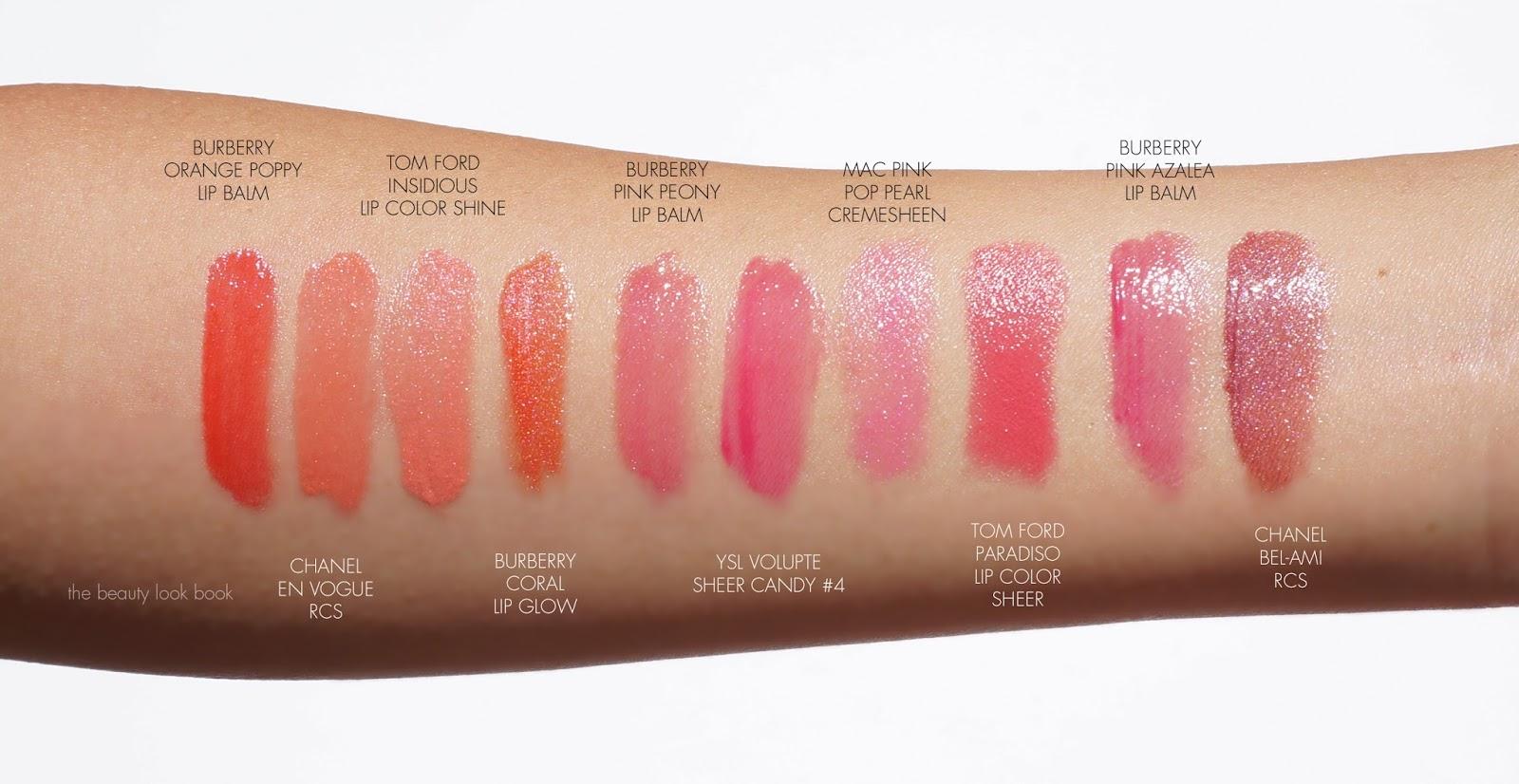 Burberry Summer Showers Lip Glow Balm And Nail Polish
