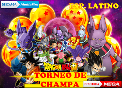 descargar saga de champa latino dragon ball super