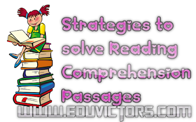 English - How to solve Reading Comprehension Passages? (#eduvictors)(#cbsenotes)