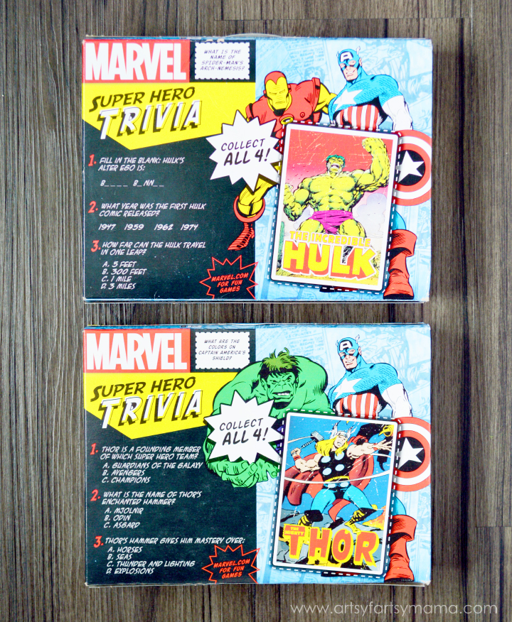 Free Printable MARVEL Super Hero Granola Bar Wrappers at artsyfartsymama.com