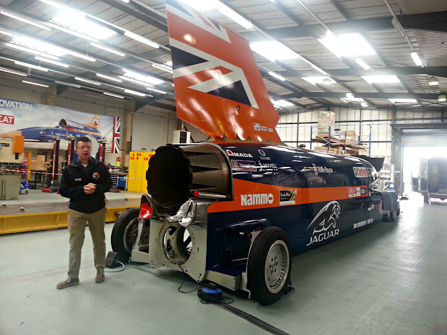 Chief Inspirer, Rob and Bloodhound SSC