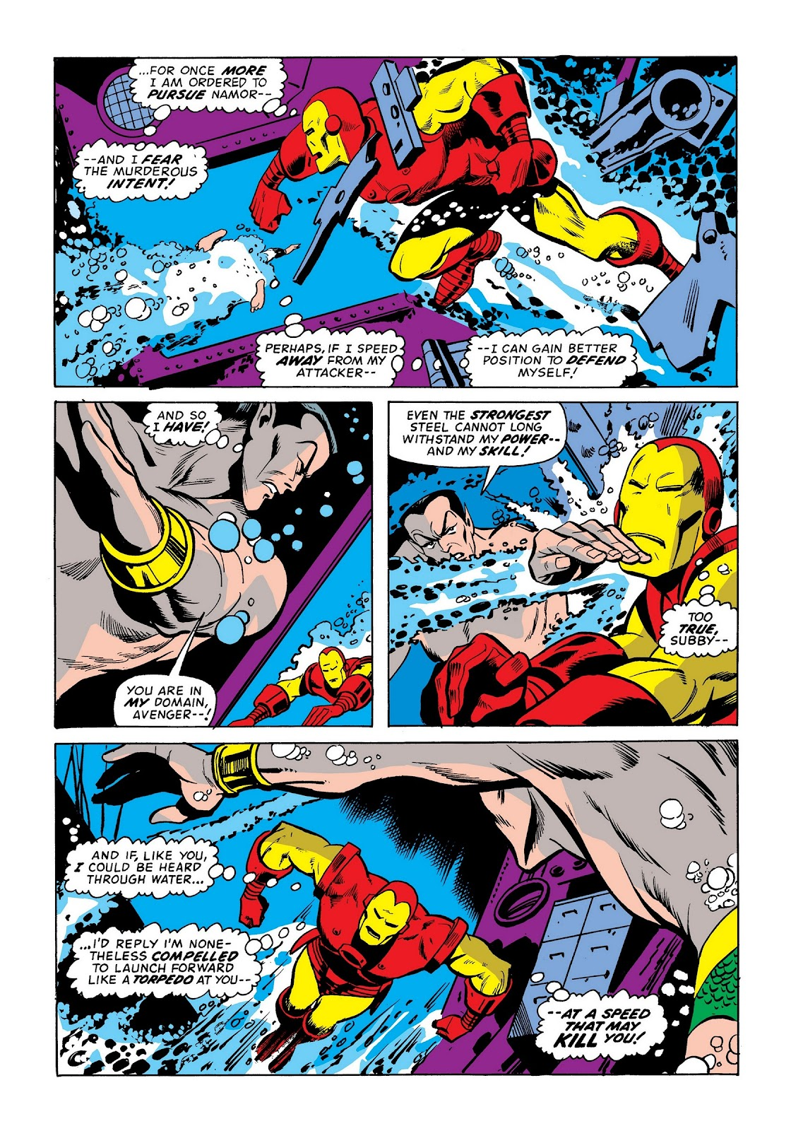 Read online Marvel Masterworks: The Invincible Iron Man comic -  Issue # TPB 9 (Part 1) - 23