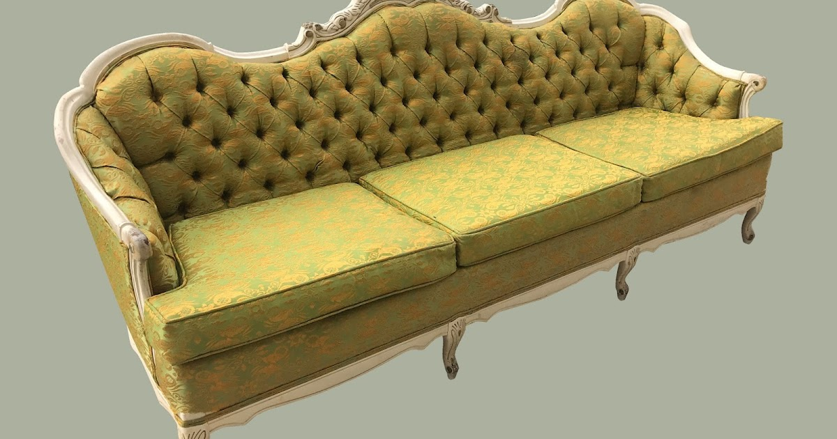 Uhuru Furniture Collectibles Vintage French Provincial Sofa 175