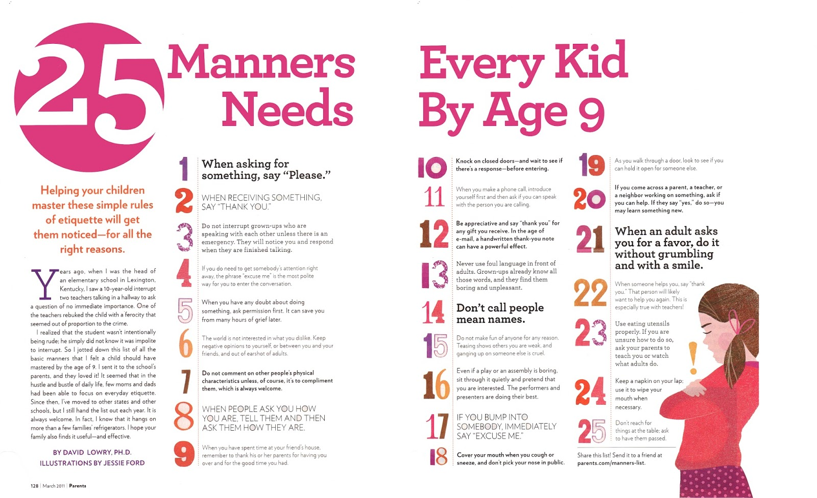 365 Days Of Circus 25 Manners Every Kid Needs By Age 9