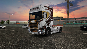 Valcarenghi skin for Scania R
