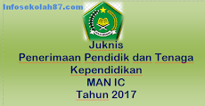 Juknis Penerimaan Pendidik dan Tenaga Kependidikan MAN IC Tahun 2017