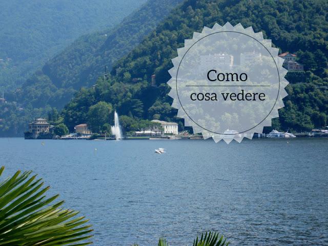 10 cose da vedere a Como. il lago