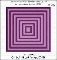 Divinity Designs Custom Squares Dies