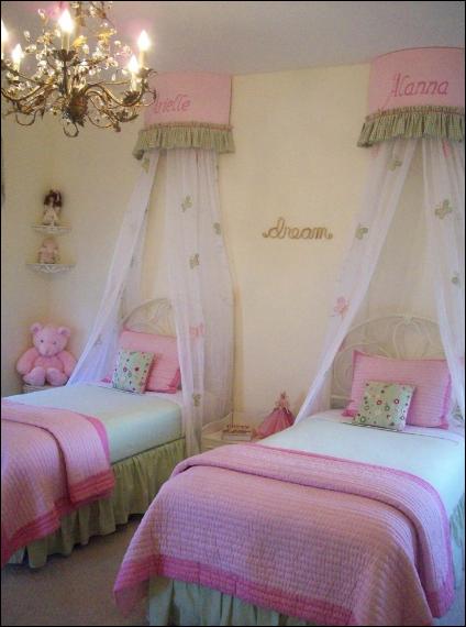 cuarto vntage para niñas