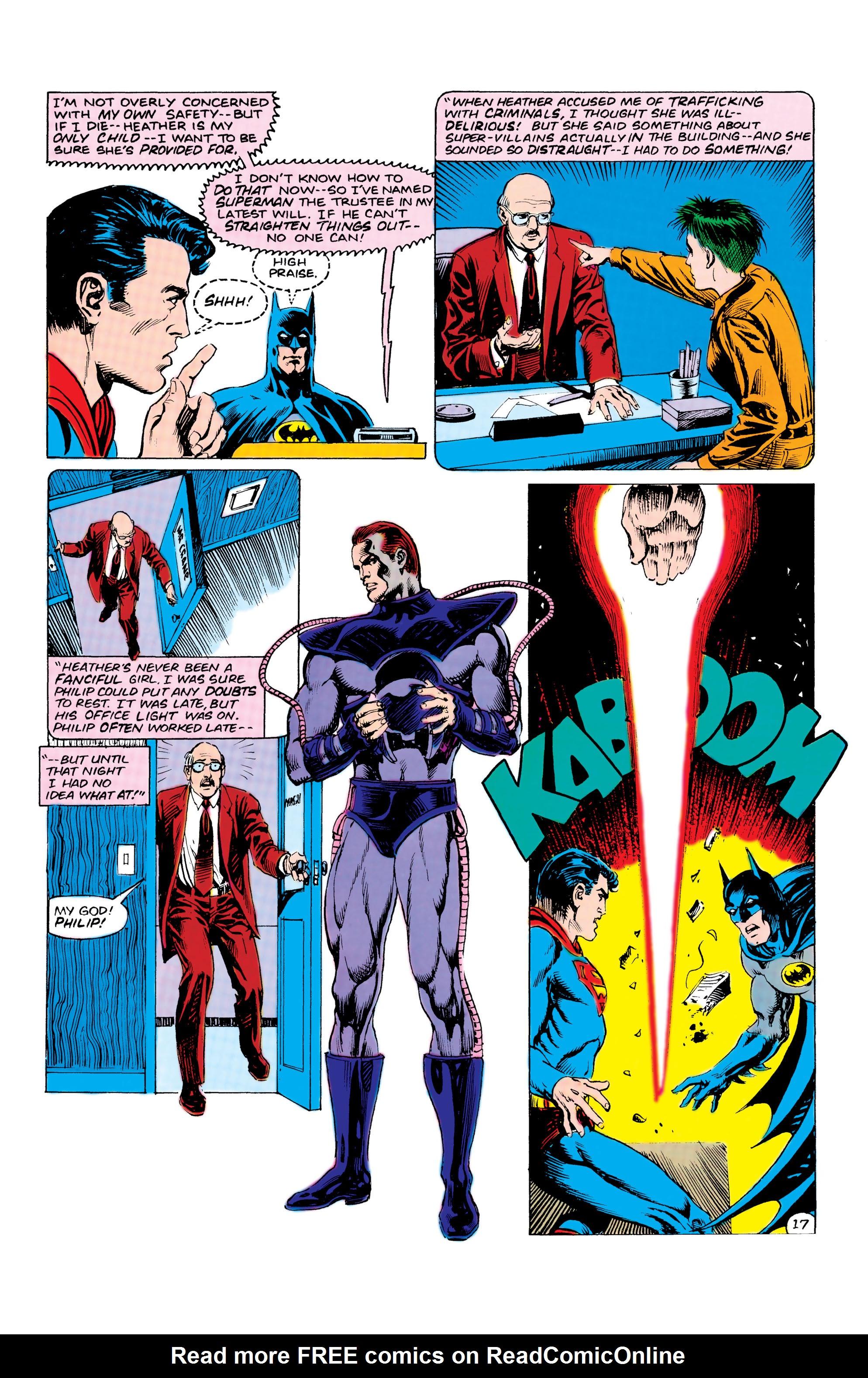 Read online World's Finest Comics comic -  Issue #309 - 18