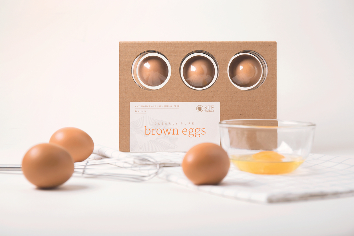 Clearly Pure Egg Packaging Student Project On