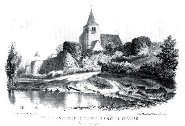 patrimoine de l'Allier Ainay le Château